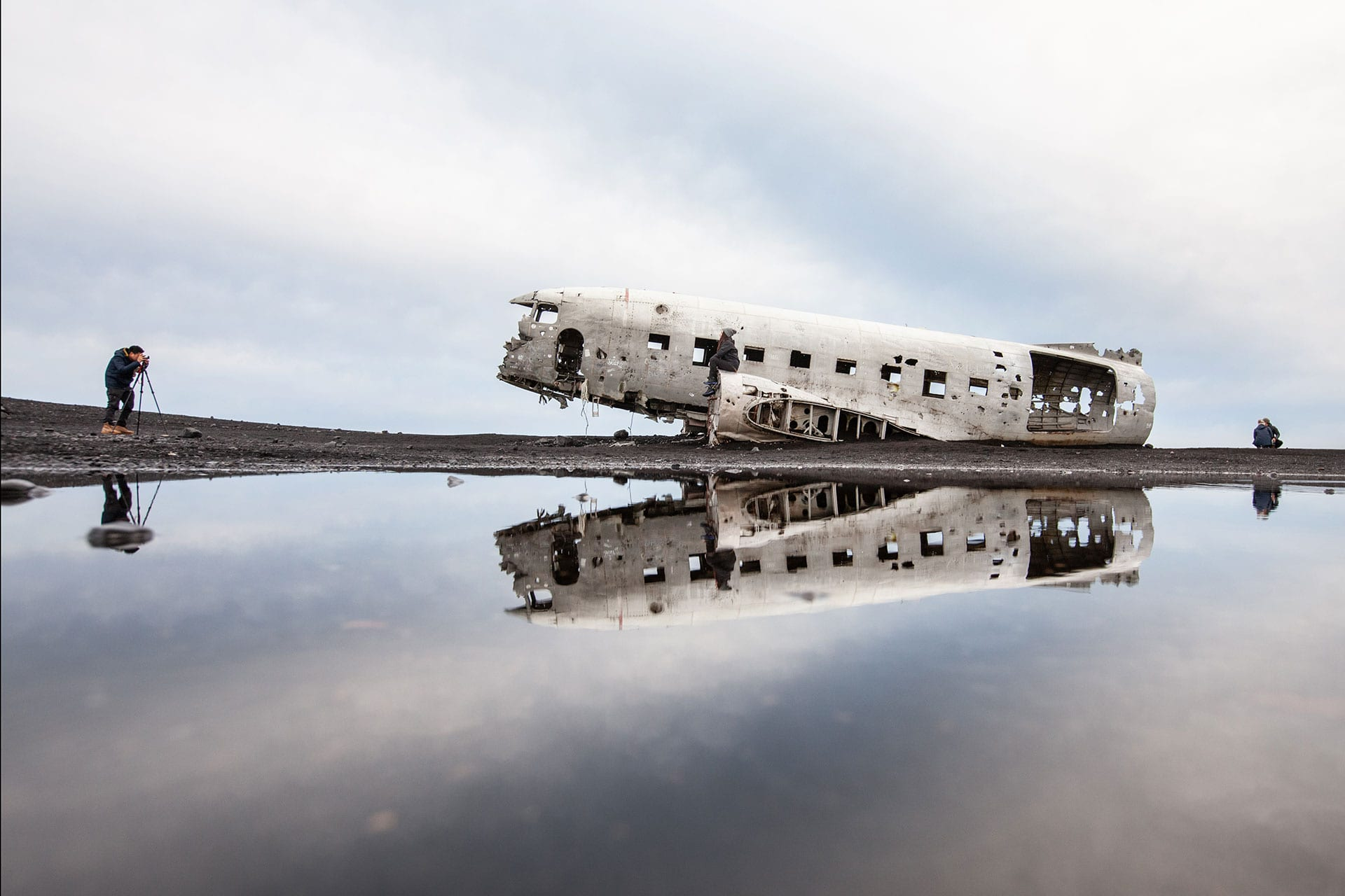 The Plane Wreck Shuttle, photo by Björgvin Hilmarsson