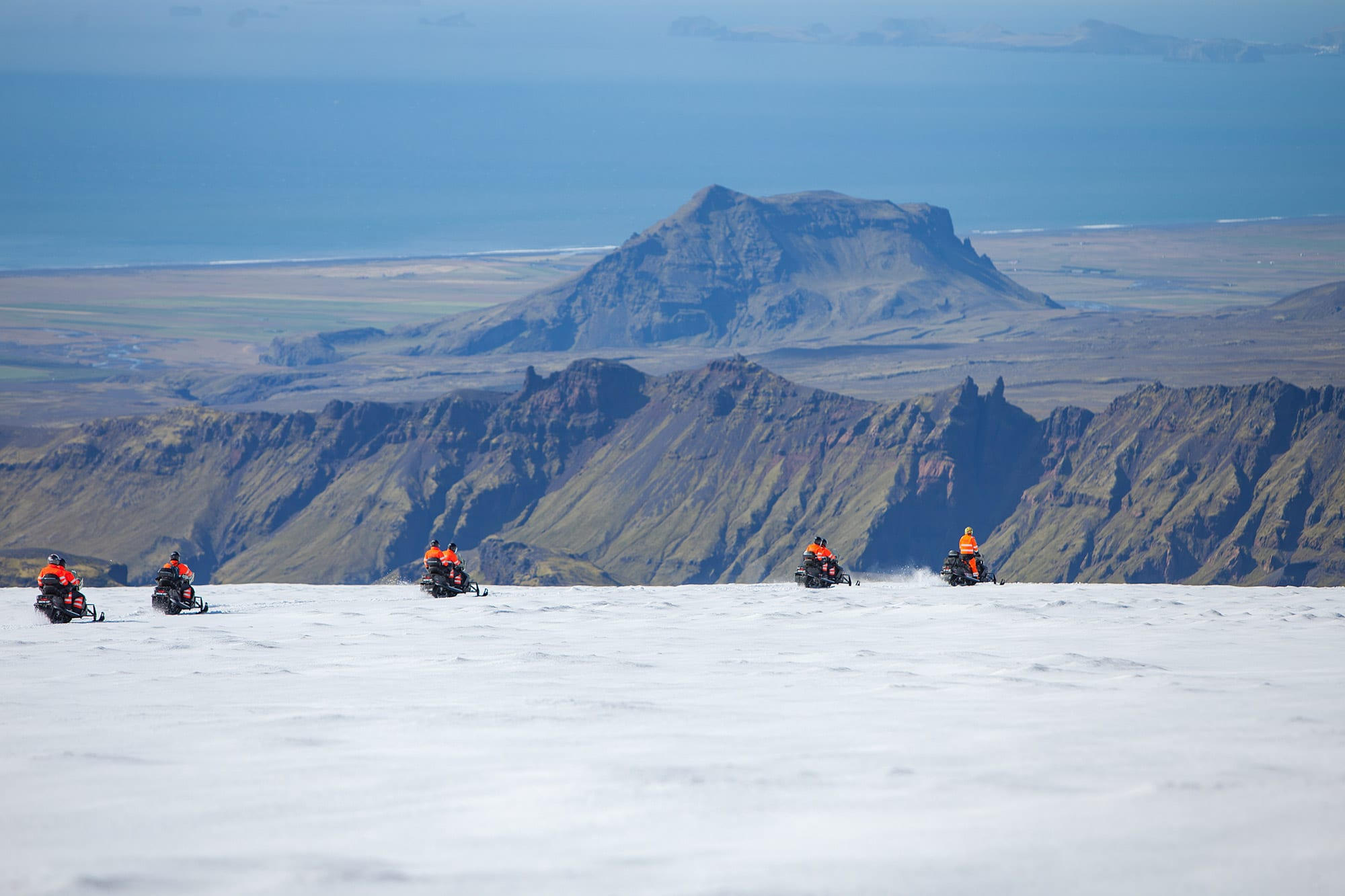 South Iceland Snowmobiling