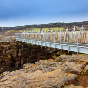 The Bridge Between the Continents, Reykjanes Peninsula