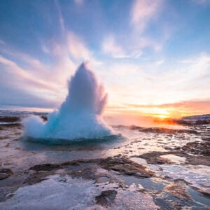 Geysir, in the Golden Circle