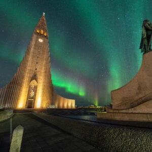 Hallgrímskirkja (Hallgrimskirkja) Reykjavik