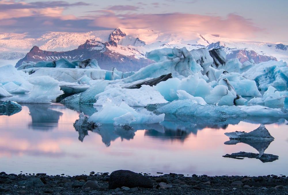 Jökulsárlón (Jokulsarlon Iceland