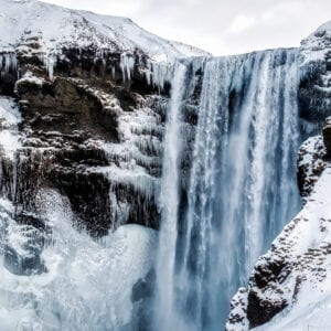 Seljalandsfoss and Skogafoss are two of Iceland best know waterfalls