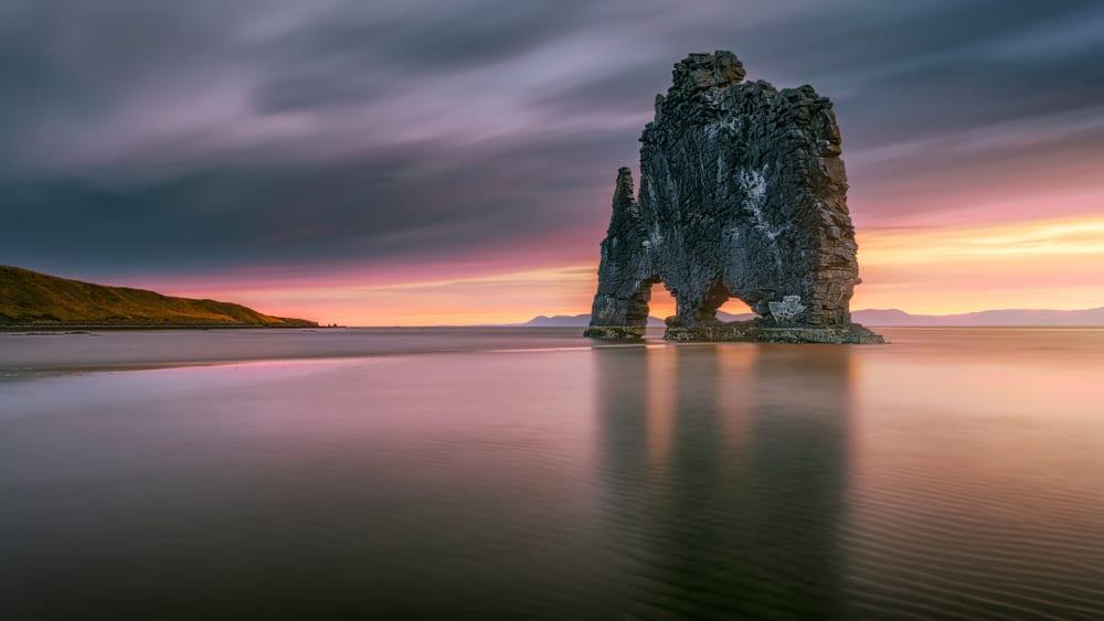 Hvítserkur, North Iceland